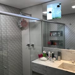 ห้องน้ำ by Marcelo Sena Arquitetura