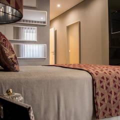 Apartamento Barcelos: Quartos  por NOZ-MOSCADA INTERIORES