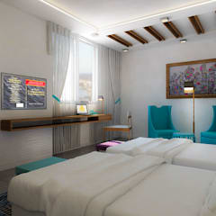 Bedroom design:  Bedroom by ARCHI-SERVICE