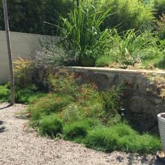 Jardin Japonés - Mediterráneo: Jardines de estilo  de Nosaltres Toquem Fusta S.L.