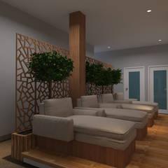 Salon dan SPA interior Eksterior:  oleh Arsitekpedia,