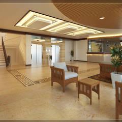 Hoteles de estilo  por Arsitekpedia,