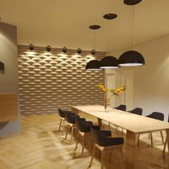 غرفة السفرة تنفيذ Gelker Ribeiro Arquitetura | Arquiteto Rio de Janeiro