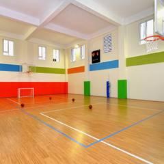 Konseptia Mimarlık Dekorasyon – Özel Eğitim Kurumları:  tarz Fitness Odası