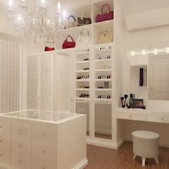 Dressing room by Arsitekpedia