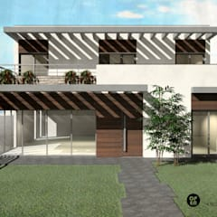 Casa da Quinta | Palmela: Casas unifamilares  por ATELIER OPEN ® - Arquitetura e Engenharia