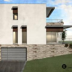 Casa da Quinta | Palmela: Casas de campo  por ATELIER OPEN ® - Arquitetura e Engenharia