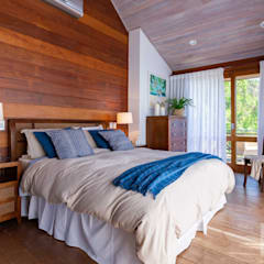 Quarto Casa Rústica - Por Patrícia Nobre: Quartos  por Patrícia Nobre - Arquitetura de Interiores