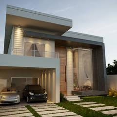 منازل التراس تنفيذ Gelker Ribeiro Arquitetura | Arquiteto Rio de Janeiro