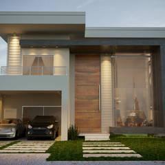 Projeto Casa Contemporânea: Casas  por Gelker Ribeiro Arquitetura | Arquiteto Rio de Janeiro