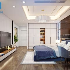 Small bedroom by Công ty TNHH Nội Thất Mạnh Hệ