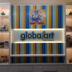 Fit Out Globalart Lotte Mall Bintaro:  Pusat Perbelanjaan by PT Intinusa Persada