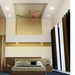 Chambre de style  par EVEN SIGHTS ARCHITECTS