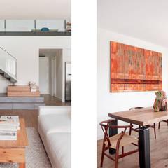 Sala de estar / Comedor: Salones de estilo  de Abrils Studio