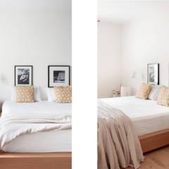 054. HOUSE - CANONGE JONCAR: Dormitorios de estilo  de Abrils Studio