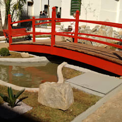 Projekty,  Ogród zen zaprojektowane przez Eric Harada Arquitetura - Projetos e Construções