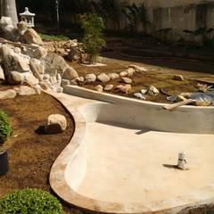 Projekty,  Ogród zen zaprojektowane przez Eric Harada - Projetos e Construções