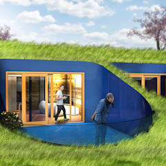 Passive house by wow! IMGS