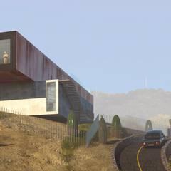 Rendering: Casa unifamiliare in stile  di wow! IMGS