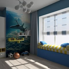 Boys Bedroom by Sensitive Design