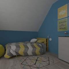 Boys Bedroom by Sensitive Design, Eclectic