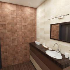 """ванная """"бамбук"""": Ванные комнаты в . Автор – Sensitive Design"""