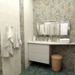 ванная испанская: Ванные комнаты в . Автор – Sensitive Design
