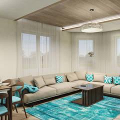 اتاق نشیمن by Sensitive Design