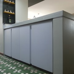 Green Kitchen: Cocinas equipadas de estilo  por MARATEA Estudio,