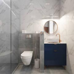 ванная комната в загородном доме: Ванные комнаты в . Автор – Sensitive Design