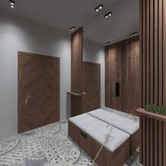 холл в загородном доме: Коридор и прихожая в . Автор – Sensitive Design