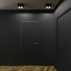 квартира студия с балконом: Коридор и прихожая в . Автор – Sensitive Design