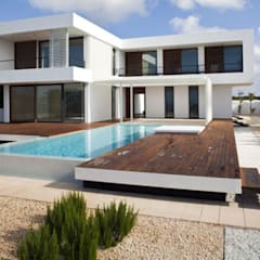 Schwimmbadbau Schwimmbecken Überdachungen Gartenpool aus robusten PP- Vollkunststoff :  Pool von AH BADDESIGN GMBH Schwimmbad & Saunabau