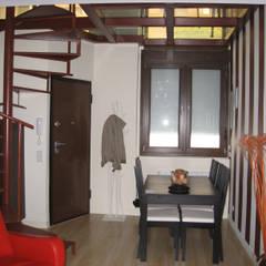 Forjado de cristal: Comedores de estilo  de Almudena Madrid Interiorismo, diseño y decoración de interiores