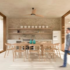 Small kitchens by Obed Clemente Arquitectos
