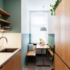 Raini Peters - Interior Design & Styling의  작은 주방