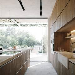 置入式廚房 by TABARQ