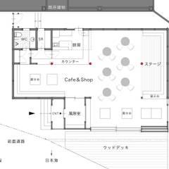 Коммерческие помещения в . Автор – 一級建築士事務所 ネストデザイン
