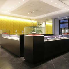1階ショップ: 一級建築士事務所 ネストデザインが手掛けた商業空間です。