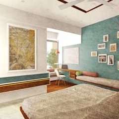 Arohi Agar:  Small bedroom by Input-A