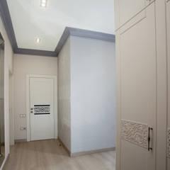 """Ремонт двухкомнатной квартиры в ЖК """"23 Жемчужина"""": Коридор и прихожая в . Автор – СотаСтрой"""