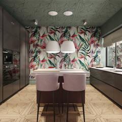 Кухня в доме: Кухни в . Автор – Premium Club