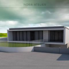 منزل عائلي صغير تنفيذ Nora Atelier