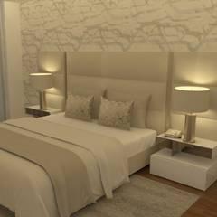 Um sonho de quarto...: Quartos  por Casactiva Interiores,