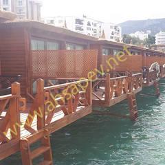 Wooden houses by SİSNELİ AHŞAP EV - AĞAÇ EV - KÜTÜK EV - BUNGALOV -KAMELYA