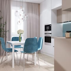 Kitchen by CUBE INTERIOR