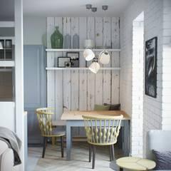 Barkod İç Mimarlık – Country Interior Design:  tarz Oturma Odası