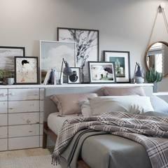 Barkod İç Mimarlık – Country Interior Design:  tarz Yatak Odası