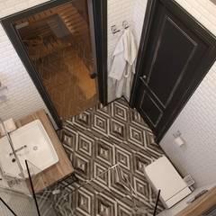 Barkod İç Mimarlık – Vintage Bathroom Design:  tarz Banyo