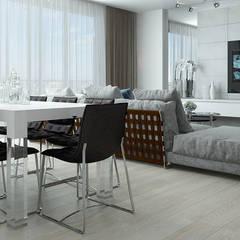 Barkod İç Mimarlık – Classic Interior Design:  tarz Yemek Odası